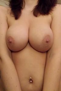 Lagom stora bröst